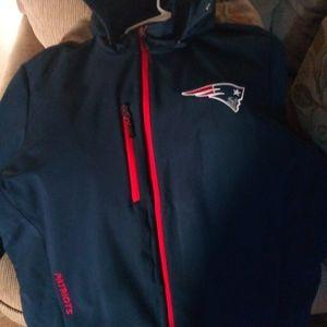 Patriots hoodie jacket